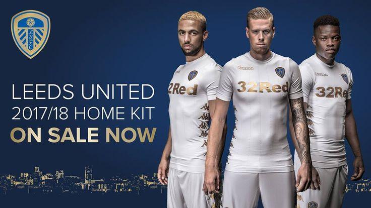 Camisas do Leeds United 2017-2018 Kappa