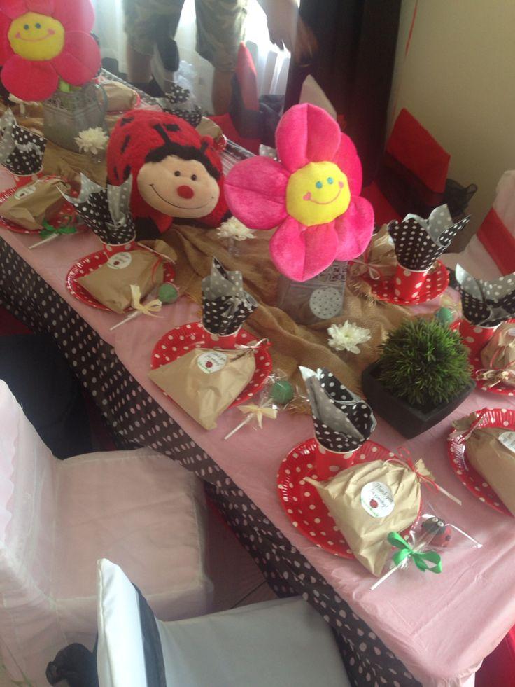 Ladybugs table