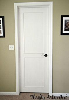 Best 25+ Slab doors ideas on Pinterest | Closet door makeover Closet door handles and Modern closet doors & Best 25+ Slab doors ideas on Pinterest | Closet door makeover ... pezcame.com