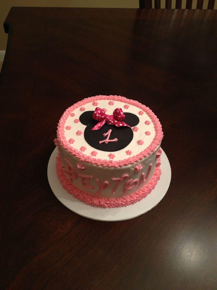 Minnie Mouse Smash Cake My Cakes Cake Minnie Mouse