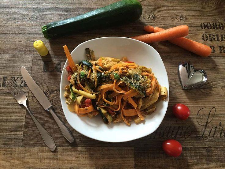 Zmoodles in Perfektion: Einfaches Rezept für leckere Gemüsenudeln