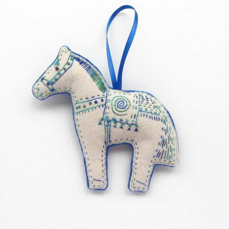 47 best horse ornaments images on Pinterest  Christmas ornaments