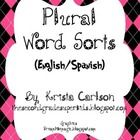 This freebie contains two plural word sorts- the first in Spanish focusing on the suffixes - s, es, ces, and the second in English focusing on the ...