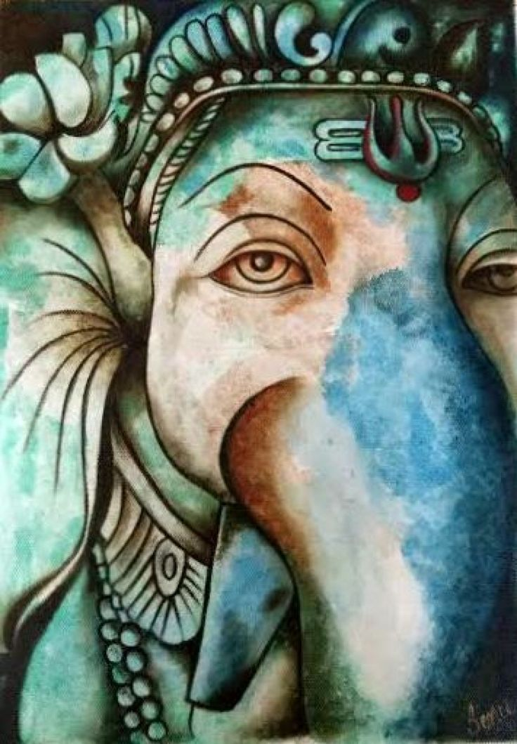 Ganesha - Mythological Paintings - By Style - Entire Collection