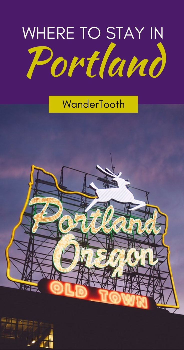 Where to stay in Portland, Oregon, USA: all you need to know about Portland's best neighborhoods. Tips and recommendations for places to stay in Portland Oregon. | Portland Travel Tips | Portland city guide - @Katie & Geoff Matthews - WanderTooth Travel