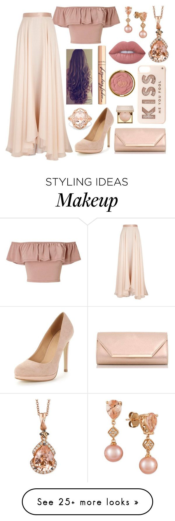 """""""Untitled #993"""" by aralynwinchester on Polyvore featuring Miss Selfridge, Lanvin, Dorothy Perkins, LE VIAN, Kate Spade, Effy Jewelry, Stila, Charlotte Tilbury, Lime Crime and Milani"""