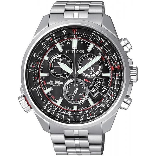 Men S Citizen Watch Promaster The Pilot Radio Controlled Titanium By0120 54e Citizen Watch Mens Watches Citizen Best Watches For Men