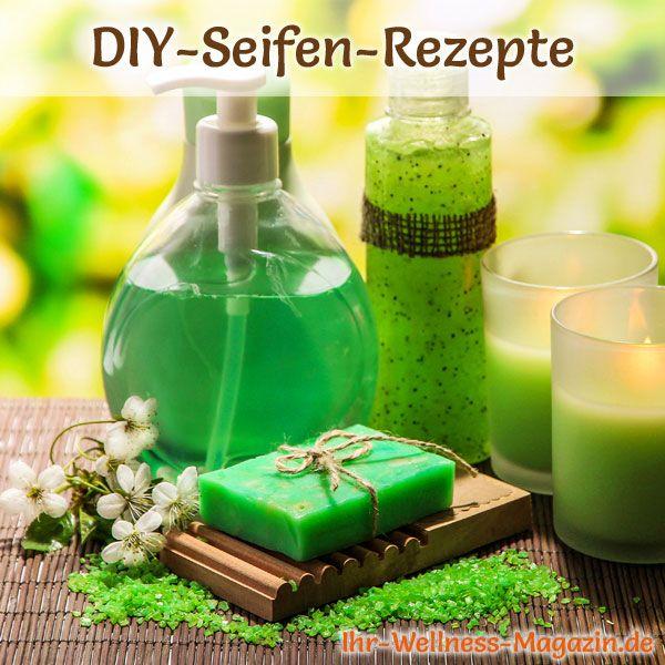 Seife herstellen - Seifen-Rezept: Shampooseife selber herstellen - sie erzeugt einen feinen cremigen Schaum, der Haar und Kopfhaut sanft reinigt und pflegt....