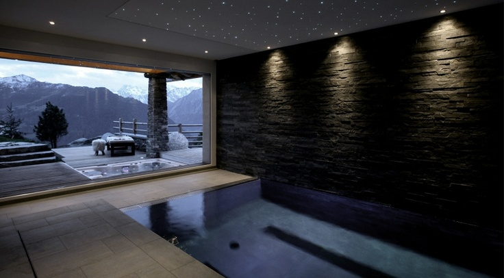 "5 Star Chalet Rental Verbier ""Chalet Spa"" - for a perfect ski holiday!    UNNNF I WANT TO GO HERE"
