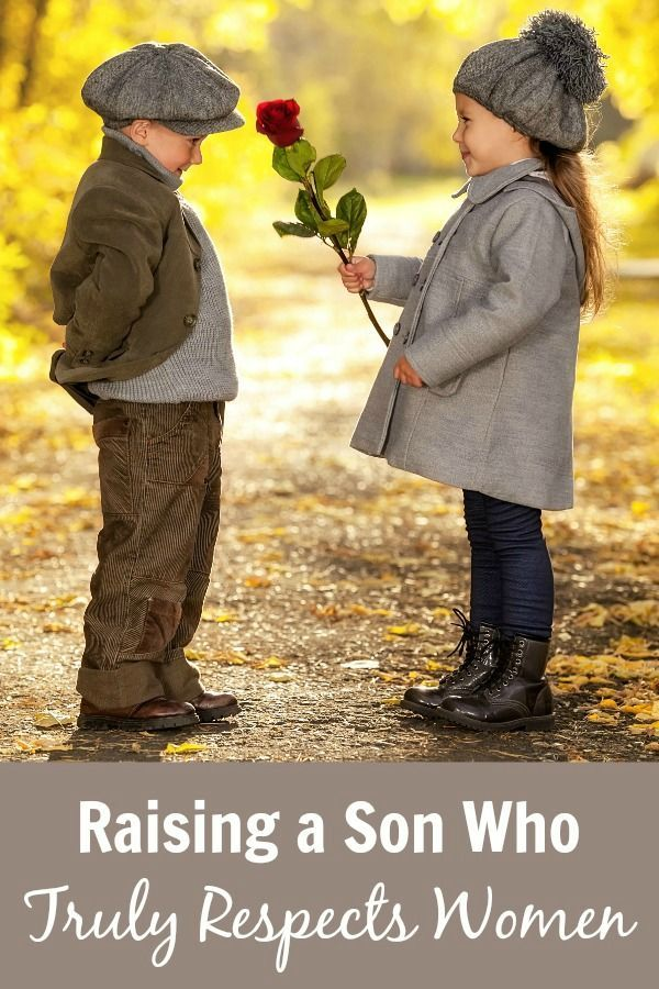 5 ways this mom is working to raise a son who truly respect women. A must-read for all moms and parents of boys!