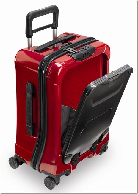Briggs and Riley - Torq International Carry-on Spinner - Front Pocket