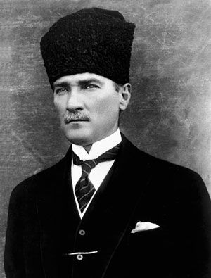 Mustafa Kemal ATATÜRK founder of the Turkish Republic