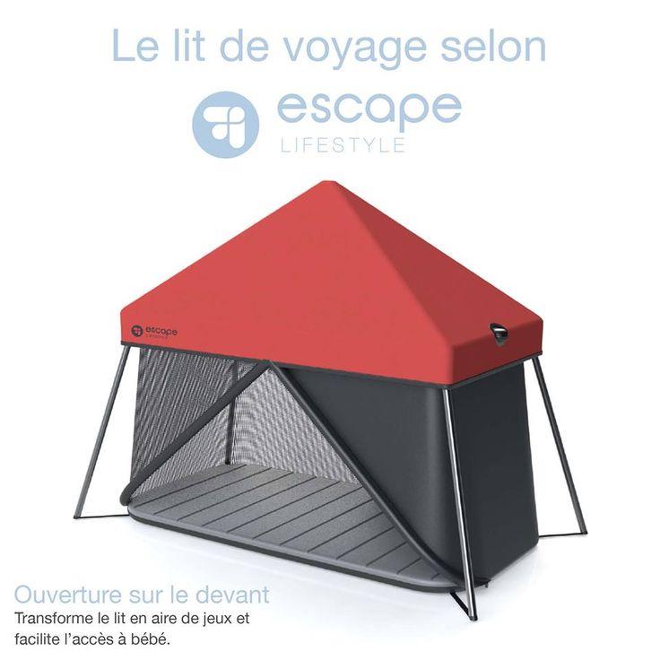 voici notre lit de voyage qui se transforme en cabane avec un toit qui apporte une grande. Black Bedroom Furniture Sets. Home Design Ideas