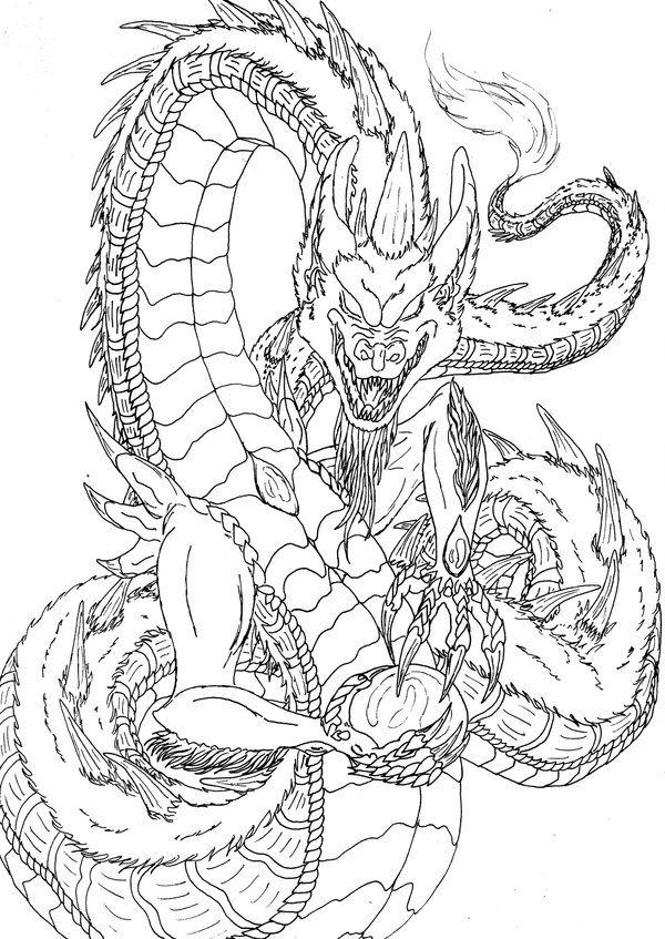 Lineart Creature By Kxeron On DeviantArt