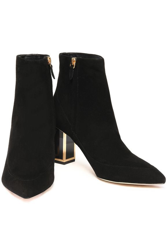 OUTNET   Leather ankle boots