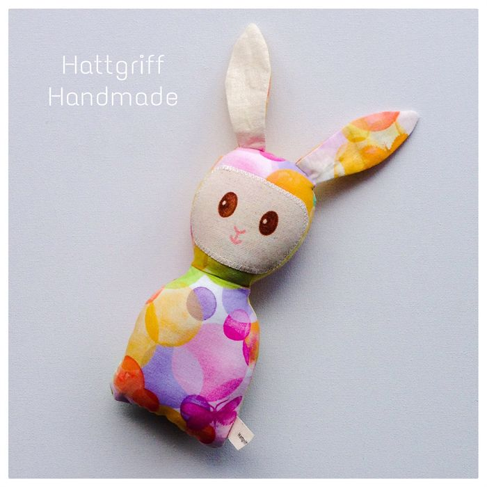 READY TO SHIP Pink n' Pastel Baby Bunny