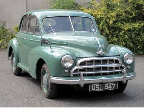 Morris Oxford Saloon - (1951) 1.5L Side Vale Straight Four cylinder Engine