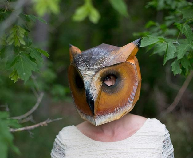 The Owl  The 18 Most Stunning 3D Masks Created By A Talented Designer • Page 4 of 5 • BoredBug