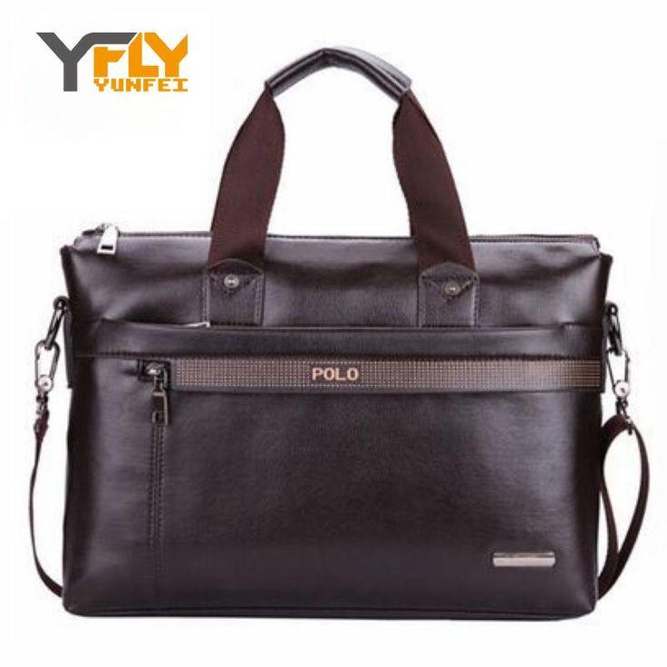 $35.63 (Buy here: https://alitems.com/g/1e8d114494ebda23ff8b16525dc3e8/?i=5&ulp=https%3A%2F%2Fwww.aliexpress.com%2Fitem%2F2016-Pu-Leather-Men-Casual-Briefcase-Business-Shoulder-Men-Messenger-Bags-Computer-Laptop-Handbag-Bag-Men%2F32631338550.html ) Y-FLY 2016 Pu Leather Casual Briefcase Business Shoulder Men Messenger Bags Computer Laptop Handbag Bag Men's Travel Bags DB5038 for just $35.63
