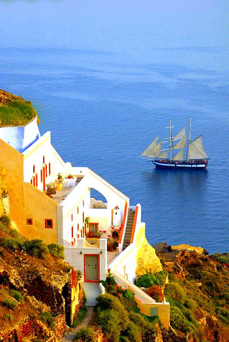Oia, Santorini Island, Greece www.oiamansion.com