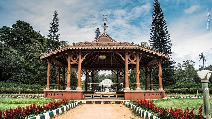 The Bandstand - Lalbagh, Bangalore.