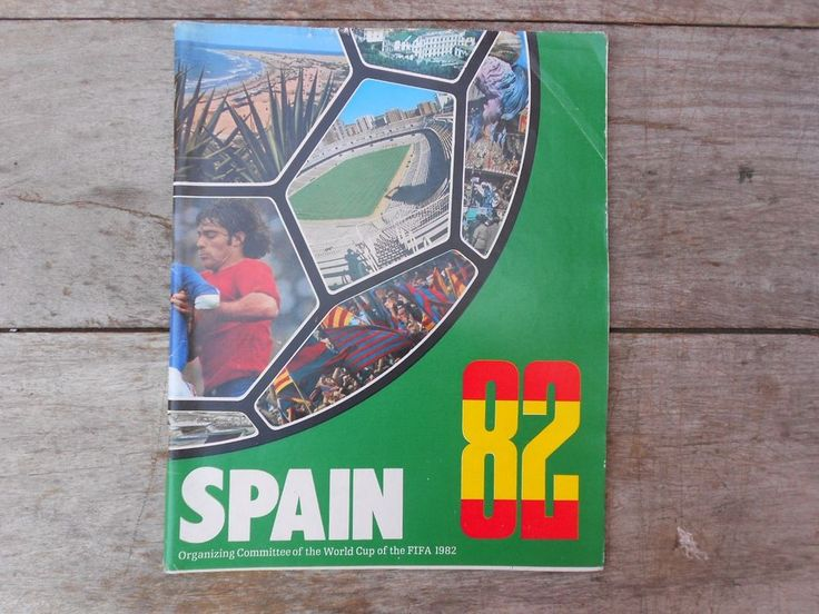 SPAIN 82 FIFA WORLD CUP Official ORGANIZING COMMITTEE publication MAY 1978  | eBay