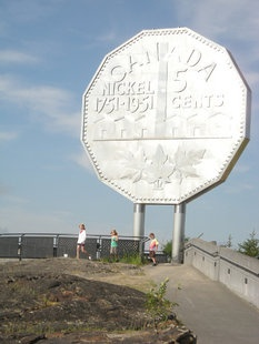 Where: Sudbury, Ontario. What: The Big Nickel. Wait, what? Talk about big coin! The Big Nickel is a replica of a 1951 coin and is listed in the Guinness Book of World Records as the world's largest coin. (Doug English/QMI Agency)