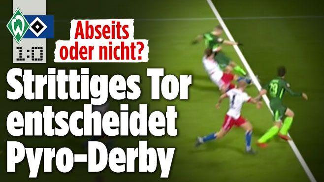 Werder Bremen gegen Hamburger SV - Bild.de