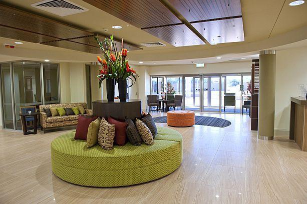 Aged Care Reception Area