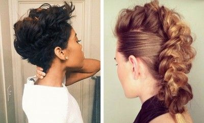 23 Faux Hawk Hairstyles for Women | Page 2 of 2 | StayGlam