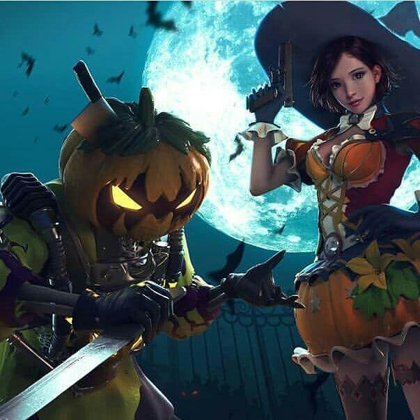 Waiting For Next Halloween Garena Garenafreefire