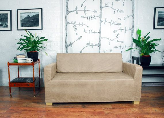 ikea solsta sofa bed cover in vintage by on etsy