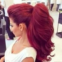 haifa wehbe red hair - Google Search
