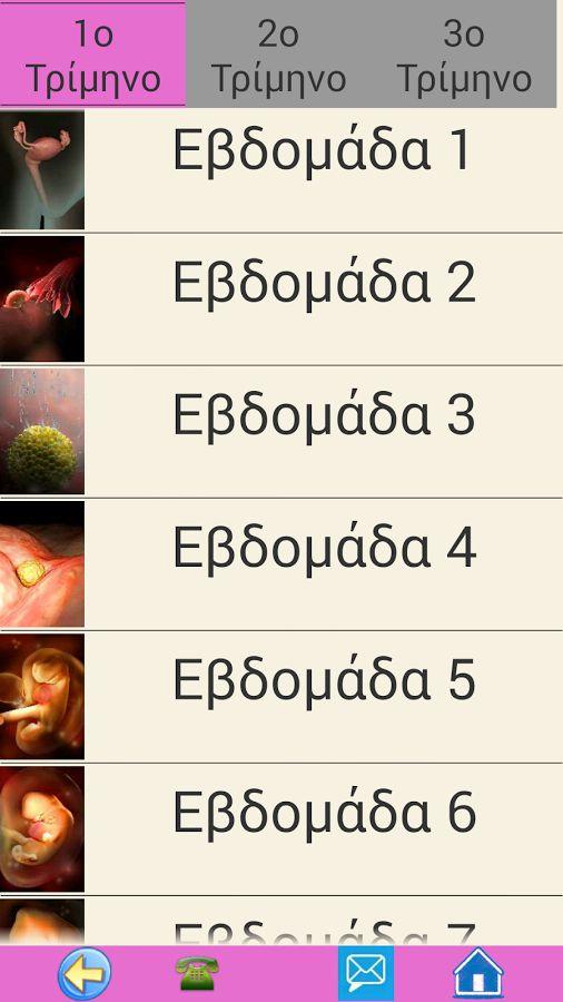 Εγκυμοσυνη - Γυναικολογια - screenshot