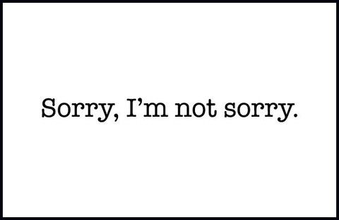 how to give an apology when you did nothing wrong