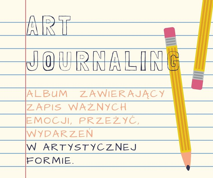 Daj upust swojej artystcznej duszy i wykonaj scrapowy projekt w technice art journaling.