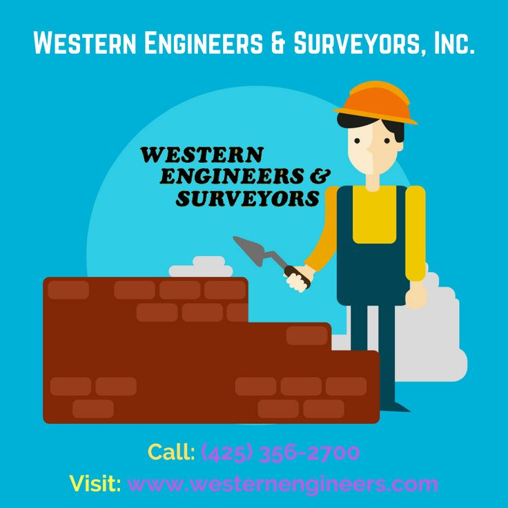 Best Civil Engineering firm for you  As the leading Western Engineering and Surveying firm, we specialize in performing quality work for many of the top companies in Washington. For more details, Call us: (425) 356-2700 or visit our site: http://westernengineers.com