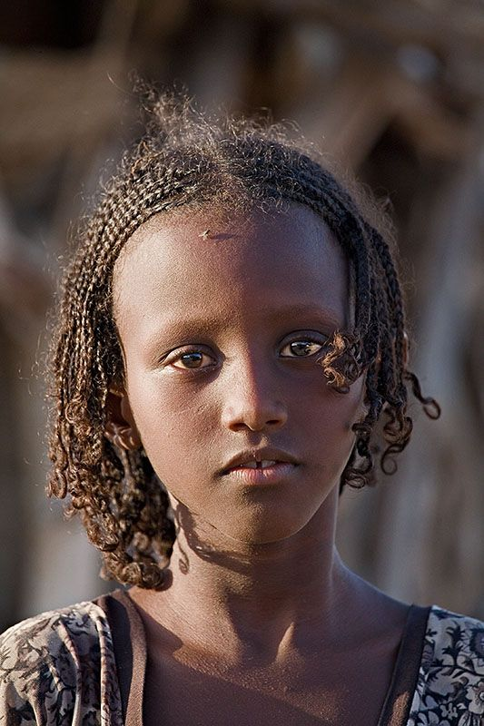 Afar Girl Eritrea Ethnicities African Tribes Horn Of