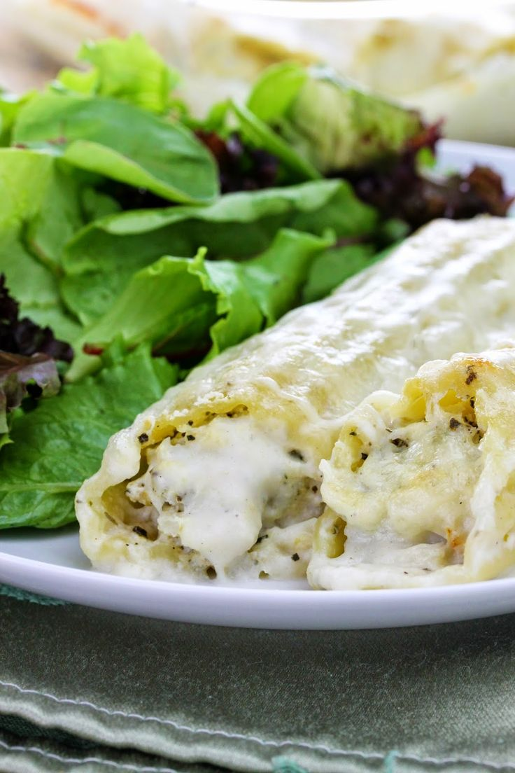 This white manicotti is stuffed full of delicious, flaky crab meat, smothered in a creamy bechamel sauce. Be sure to use the nicest crab you can fine as seafood quality certainly makes a difference. My 6 year old ate 3.5 of these which is amazingly noteworthy. This is a delicious seafood pasta dish that apparently...