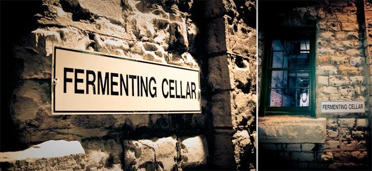Fermenting Cellar sign
