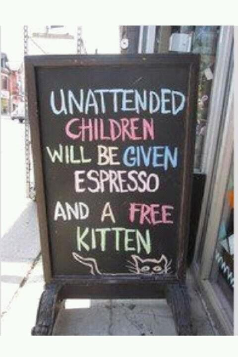 My kind of coffee shop :)