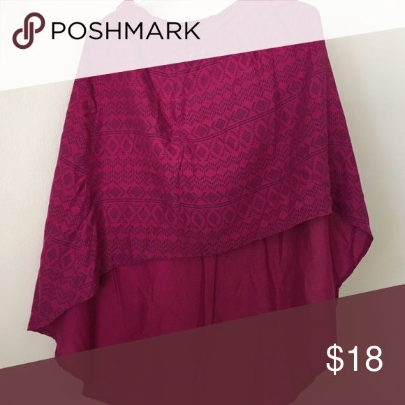 High low pink skirt High low shirt from target worn once Mossimo Supply Co Skirts High Low