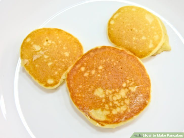Image titled Make a Mickey Mouse Pancake Intro