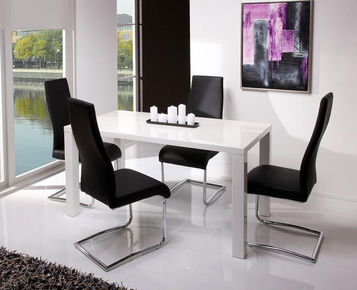 trendige esszimmer st hle st hle esstisch modern. Black Bedroom Furniture Sets. Home Design Ideas