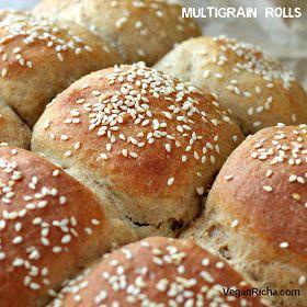 Vegan Richa: Multigrain Buns/Rolls with Spelt Rye Kamut Sorghum Barley ...