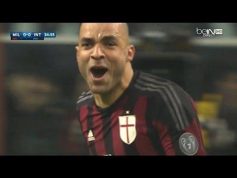 MILAN-INTER 3-0 31 GENNAIO 2016 MERAVIGLIOSO GOAL DI TESTA DI ALEX 1 A 0 - VIDEO FOR ALL #acmilan #milan #derby