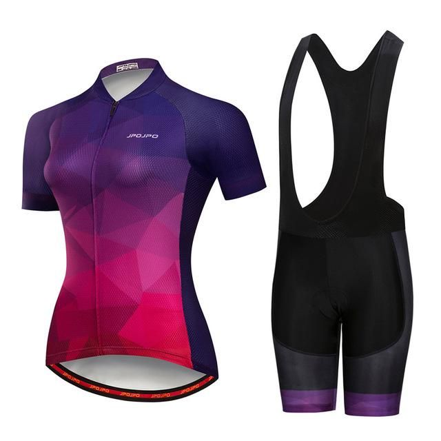 Weimostar 2018 Summer Short Sleeve Cycling Jersey Set Women Breathable mtb  Bicycle Cycling Clothing Downhill Bike Wear Clothes 9b6370b88