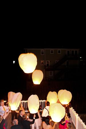 Rehearsal dinner ideas #lanterns