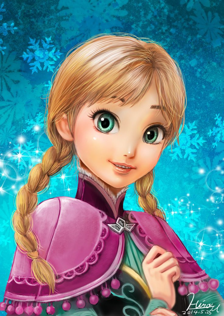 Frozen anna by hirousuda on deviantart frozen pinterest disney frozen and dr who - Frozen anna disney ...