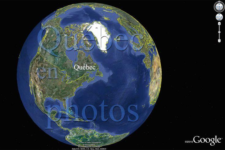 QUÉBEC EN PHOTOS, Amérique du Nord, Canada, entre le Pacifique et l'Atlantique, le pôle nord et les États-Unis.